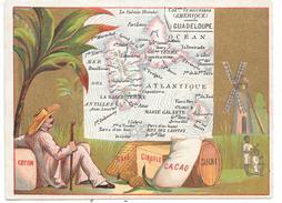 CHROMO - Colonies Françaises - Amérique - GUADELOUPE - Chromos