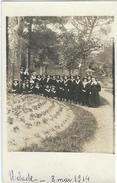 Herault : Lamalou Les Bains, Parc De L'Usclade, 8 Mai 1914, Carte-Photo - Lamalou Les Bains