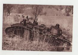 CHAR De 70 Tonnes Traversant Une Rivière - 1914-18