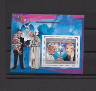 JOHN PAUL II - PAPA Giovanni Paolo II - Comoro Island - Comores - Pope J. Paul II  - Sheet - Päpste