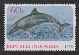 Indonesie, Indonesia Nr.972 MNH ; Dolfijn, Dolphin, Dauphin, Delfin - Dolfijnen