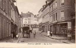 CPA - PONT-de-l'ARCHE (27) - Aspect De La Rue Du Pont Dans Les Années 20 - Pont-de-l'Arche