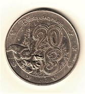 Monnaie De Paris 77.Disneyland N°31 Logo 2013 - 2013