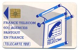 France, Telecom, Telecarte 120, Thème, Téléphones, Agence Commerciale - Telefoni