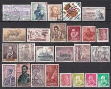 Lotto C58i Spagna Vecchi Moderni Piccola Collezione Di 25 Differenti Espana Spain - Collections