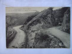 Aveyron Un Tournant Difficile Route De La Cadède - France
