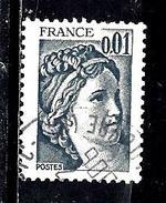 FRANCE 1962°  0,01€ Gris Foncé Sabine De Gandon (10% De La Cote + 0.15) - 1977-81 Sabine (Gandon)