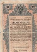 Austria Staatsanleihe 100 Kronen  Bassa Conservazione Doc.244 - Azioni & Titoli