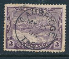 TASMANIA, Postmark  CAMBRIDGE - Gebraucht