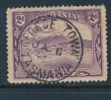 TASMANIA, Postmark  GEORGETOWN - Gebraucht