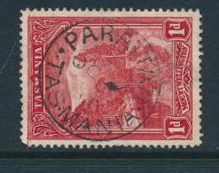TASMANIA, Postmark  PARATTAH - Gebraucht