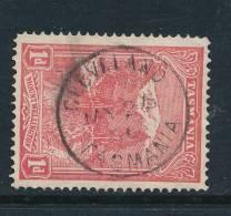 TASMANIA, Postmark   CLEVELAND - Gebraucht