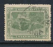 TASMANIA, Postmark  EXTON - Gebraucht