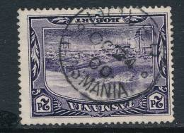 TASMANIA, Postmark  DOVER - Gebraucht
