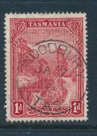 TASMANIA, Postmark  WOODBURY - Gebraucht