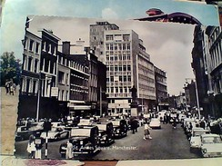 England Manchester St. Anne's Square Animated AUTO  CAR  VB1967 FW9538 - Manchester