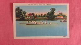 Boat Race On Cooper River Camden NJ  == Ref 2442 - Cartes Postales