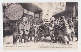 75 - GREVE DES CHEMINOTS DE L'OUEST ETAT / UNE CUISINE ROULANTE GARE SAINT LAZARE - France