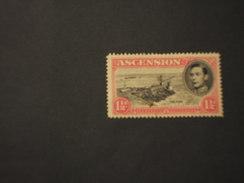 ASCENSION - 1938/44  RE  1 1/2 P. , Dent. 14 - NUOVO(++) - Ascensione