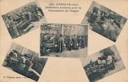 01 - OYONNAX - Ain - Différents Ateliers Pour La Fabrication Du Peigne - Oyonnax