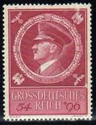 Deutsches Reich, 1944, Mi 887 ** Geburtstag Von Hitler [241216StkKV] - Unused Stamps