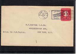 """US POSTAGE  Entier """" 1926 SESQUICENTENNIAL EXPOSITION - 2c """" Cachet AERIEN De MIAMI.  1932 Pour N.YORK"""