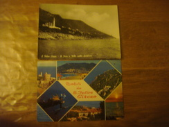 ITALIE - ITALIA - Lot De 2 Cartes De SAN FELICE CIRCEO --- Il Faro Ville Sulla Scogliera / Multivues - Altre Città