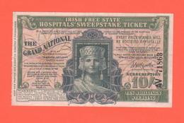 Irlana Nord Dublino Biglietto  Lotteria Ospedale 1937 Lottery - Biglietti Della Lotteria