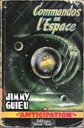 FNA 51 - GUIEU, Jimmy - Commandos De L'espace (Envoi De L'auteur, MED) - Fleuve Noir
