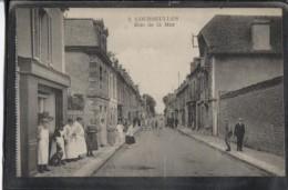 CPA - COURSEULLES - RUE DE LA MER - Edition Lecordier - Courseulles-sur-Mer