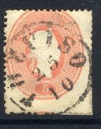 LOMBARDY VENETIA 1860 Franz Joseph 5 Soldi. Used  With Treviso Postmark. Michel 12 - 1850-1918 Empire