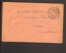 Alli.Bes.24 Pfg. Arbeiter Auf Fernbrief Aus Steinach (Thür) Von 1947 Mit Ortswerbestempel - Zone AAS