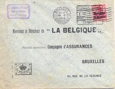 Zottegem Via Gent 17 Januari 1916 Naar Brussel - [OC26/37] Terr. Etapes