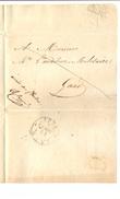 "Maldegem Naar Gent Portvrij En Geschreven ""armée Des Flandres"" 11 Augustus 1831 - 1830-1849 (Belgique Indépendante)"