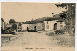 88      BAZEGNEY       Grande Rue - Frankrijk