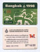 Thailand - 1998 Chip - Asian Games - Thaïlande