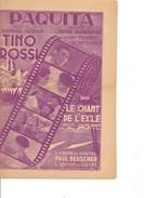 Partition- PAQUITA  - Tino ROSSI -Paroles : Maurice VANDAIR  - Musique: H. Bourtayre - Non Classés