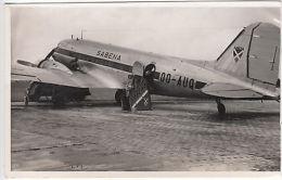 Photo: Sabena Plane, Zoote, 1949 - Transportation