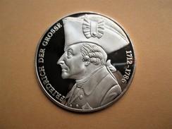 Medaille Friedrich Der Grosse 35g- 999/1000 Ag  Preussens König. 1712-1786 - [10] Conmemorativas