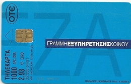 Greece - Commercial Bank  6 - X1089 - 04.2001 - 35.000ex, Used - Greece