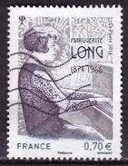 France - N° 5032 Oblitéré - Marguetite Long - Année 2016 - France