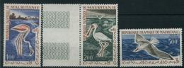 1961 Mauritania, Uccelli Posta Aerea, Serie Completa Nuova (**) - Mauritania (1960-...)
