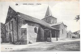 USSON - L'Eglise - France