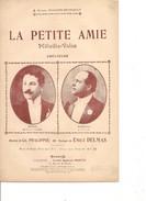 Partition- La Petite Amie - Junka / Vorelli-  Paroles : CH. PHALIPPOU- Musique: E. DELMAS - Non Classés