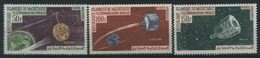 1963 Mauritania, Telecomunicazioni Spaziali Aerea Posta Aerea , Serie Nuova (**) - Mauritania (1960-...)