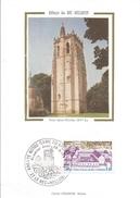 France 1978 Le Bec-Hellouin Abbey Abbaye Religion Monastry Maximumcard - 1970-79