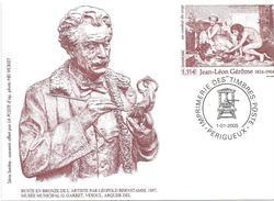 France 2005 Perigueux Gerome Cock Fight Postal Stationary Card - Postwaardestukken