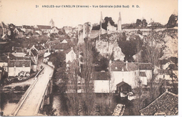 ANGLES SUR L'ANGLIN - Vue Générale (côté Sud) - France