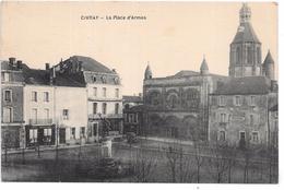 CIVRAY - La Place D'Armes - Civray