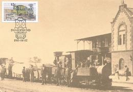 SWA Namibia 1985 Swakopmund 600 Mm Schmallspur Narrow-gauge Loc Maxicard - Treni